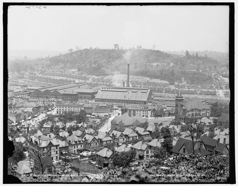 11a-Photo of Westinghouse Air Brake Co.-Public Domain-LOC
