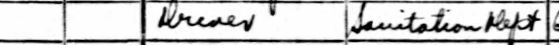 47-Giuseppe D'Agosto in New York-1940 Fed Census Dept of Sanitation