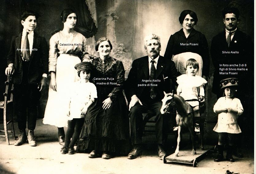 Aiello Family-Calabria-Photo with Names
