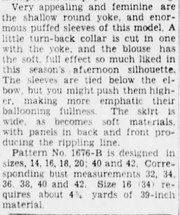54b-Bklyn Daily Eagle feminine lines 2 6-10-1935