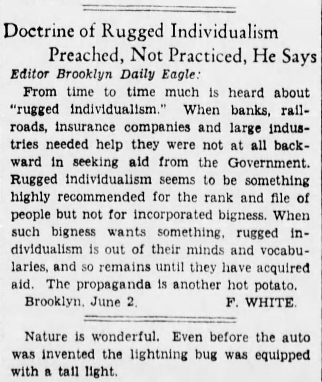 54b-Letters to Editor-Bklyn Daily Eagle June 10 1935 rugged